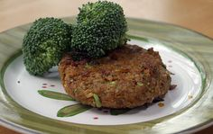 Vegan Chickpea Brown Rice Burgers