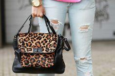 rebecca minkoff leopard purse