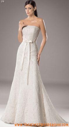 176  Vestido de Novia  White One