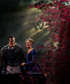 Swanfire Valentine's Day edit - by thechloris on Tumblr