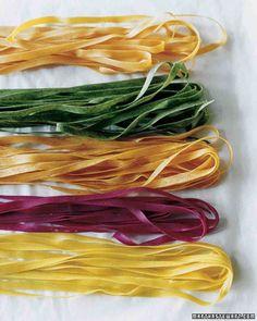 Fresh Carrot Pasta Dough
