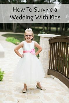 How to Survive a Wedding with Kids - Moms Without Answers