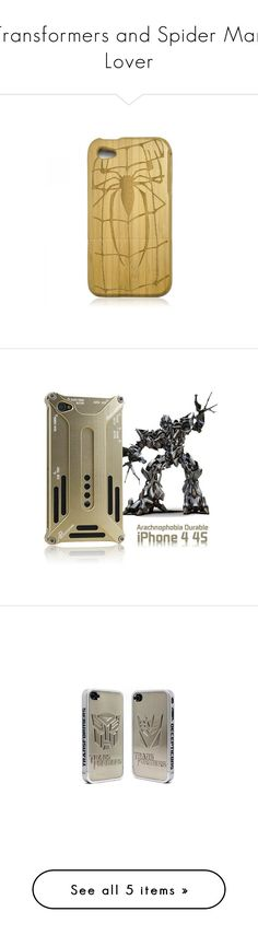 """""""Transformers and Spider Man Lover"""" by lovetracygeeks ❤ liked on Polyvore featuring accessories, tech accessories, iphone case, iphone cover case, apple iphone cases, bamboo iphone case, slim iphone case, ipad sleeve case, ipad cover case and bamboo ipad case"""