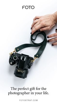 FOTO's pine green genuine all-leather designer camera strap can be personalized with a monogram or business logo, making this leather camera strap the perfect personalized gift. Leather Camera Strap, Camera Straps, Personalized Products, Personalized Gifts, Photographer Logo, Gifts For Photographers, Camera Accessories, Monogram Initials, Business Logo
