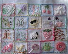 Cute embroidery ideas.