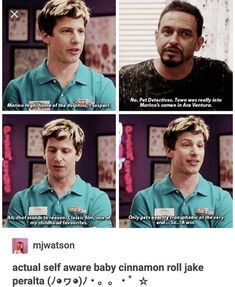 21 Times 'Brooklyn Nine Nine' Got Us Chuckling - Memebase - Funny Memes Funny Girlfriend Memes, Funny Memes, Funniest Memes, Funny Tweets, Hilarious, Best Tv Shows, Favorite Tv Shows, Brooklyn Nine Nine Rosa, Jake And Amy