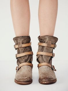 A.S.98 Topanga Buckle Boot at Free People Clothing Boutique