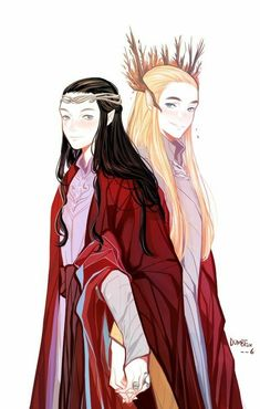 Elrond and Thranduil