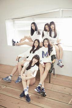 Kpop idol group GFriend Glass Bead concept