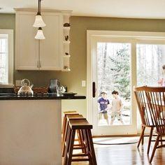 Similar to what we'd do.  :)  Burlington Kitchen Photos Kitchen Peninsula Design Ideas, Pictures, Remodel, and Decor