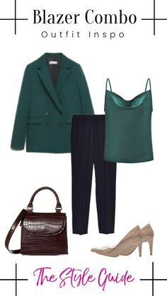 Blazer Outfits, The Selection, How To Wear