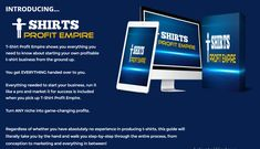 Discover the easiest way to bank over $100 plus per day with T-Shirt business with everything done for you. Everything, Business, Day, T Shirt, Supreme T Shirt, Tee Shirt, Store, Tee