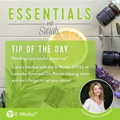 """We LOVE our """"Essentials with Sarah"""" tips! What is your favorite essential oil? #WeMakeOilsCool"""