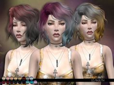 Titanium Hair  Found in TSR Category 'Sims 4 Female Hairstyles'
