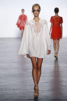 Tadashi Shoji September 2016 at New York Fashion Week. #NYFW