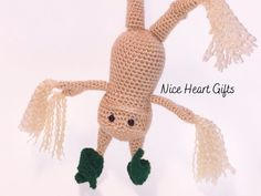Crochet Root Amigurumi Plushie Toy Photo Prop  Two Sizes Nice Heart Gifts Family Crafts, Easy Crafts For Kids, Crochet Gifts, Crochet Dolls, Unicorns And Mermaids, Mermaid Dolls, Mermaid Blanket, Diy Doll, Handmade Shop
