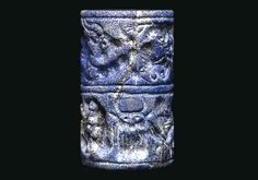 Sumerian Cylinder Seal, Early Dynastic III, c.... at Ancient & Medieval History