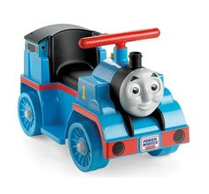 We like that the Power Wheels Thomas the Train looks just like Thomas the Train on TV and our kids love Thomas the Train, they ride this everyday.