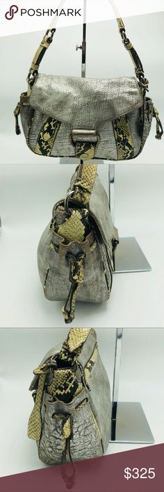Vintage Miu Miu Python   Lamb Handbag Vintage one-of-kind Miu Miu handbag  from 2005. A must add bag for any handbag collector! Made of lamb skin that  has ... adea38b162