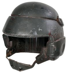 Custom-made combat helmet from Starship Troopers