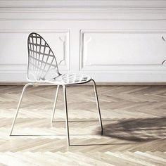 Like most of Louise Campbells furniture SPIDER WOMAN CHAIR does not refer to existing design – its only references are originality and aesthetics. The asymmetrical laser cut web on the shell of SPIDER WOMAN repeats the construction of the frame beneath it Hay Design, Stackable Chairs, Contemporary Furniture, Lighting Design, Spider, Cool Designs, Indoor, Woman, The Originals