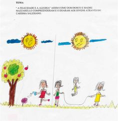 Istituto Waldemar Falcão - Aracati - Brasile. The children's drawings of the salesian schools around the world.