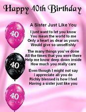 Fridge Magnet - Personalised - Friend Poem Female - Birthday+ FREE GIFT BOX in Home, Furniture & DIY, Celebrations & Occasions, Other Celebrations & Occasions 40th Birthday Poems, Happy 18th Birthday Quotes, Birthday Greetings For Mother, Birthday Wishes For Daughter, Best Birthday Quotes, Sister Birthday Quotes, Cousin Birthday, Birthday Ideas, Birthday Cards