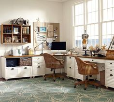pottery barn office. whitney shuttered lateral file cabinet with shelf, almond white honey stain · pottery barn office