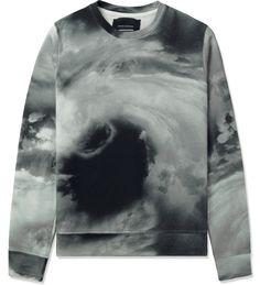 White/Black/Grey Storm Sweater