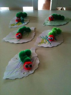 ✅Very Hungry Caterpillar craft: photo borrowed from Just Like Home Daycare and Preschool