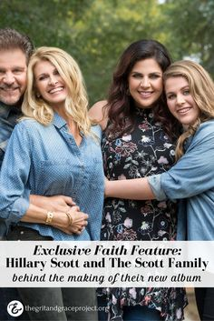 IT'S TIME!  See it here, first! We are so excited about this EXCLUSIVE behind the scenes Faith Feature on Hillary Scott and The Scott Family, as family members share personal reflections of one special song from their new album, Love Remains. Read it now, and pass it on to your friends! ‪#‎gritandgracelife‬ || Hillary Scott feature The Scott Family Album Love Remains ||