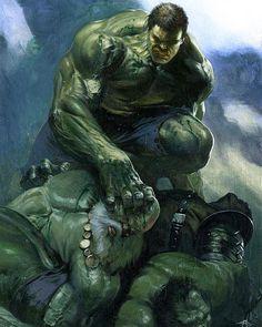 Hulk Smash Hulks By Gabriele Dell Otto  #marvel #Comics #Marvelcomics #comicbooks  #uncannyavengers #avengers #ageofultron  #captainAmerica #Ironman #thor #hulk  #hawkeye #blackwidow #spiderman #vision #scarletwitch #civilwar #spiderman #infinitygauntlet #blackpanther #wintersoldier #deadpool #wolverine #daredevil #thanos #colossus