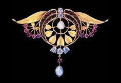 Art Nouveau jewellery by Lluis Masriera.