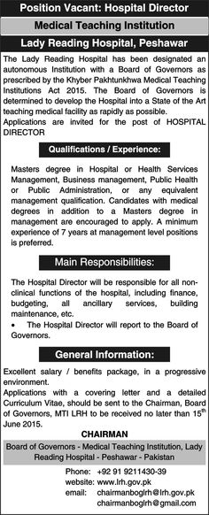 Accounts Manager Jobs in Pakistan Accounts Manager Qualification - maintenance director job description