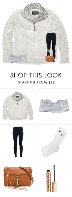 """""""Christmas Haul in D// OOTD- shopping in Nashville"""" by mae343 ❤ liked on Polyvore featuring True Grit, NIKE, Rebecca Minkoff, Charlotte Tilbury and Kendra Scott"""