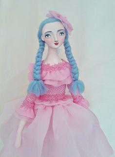 Ooak poseable art doll - Alma