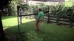 Exit monipeliverkon avulla voit pelata kotona ja mökillä tennistä, lentopalloa, sulkapalloa! Tutustu osoitteessa: http://www.tasapeli.fi