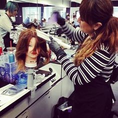 Hair coloring with Colour Wand Balayage paddles   Colour Wand
