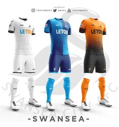 Premier League Concept Kits - All Premier League Kits Redesigned By Qehzy - Footy Headlines Soccer Kits, Football Kits, Sport Fashion, Mens Fashion, Premier League Teams, Sports Uniforms, World Football, Sports Games, Sport Outfits