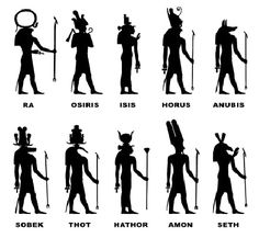 egyptian symbols and meanings | Quick guide to the ancient Egyptian gods