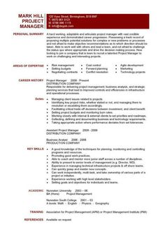 Construction and Project Management Specialist Resume Example ...