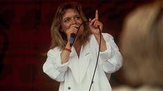ROSKILDE. Anne Linnet var Roskildes musikdronning i 80'erne KL. 08:35 En række danske navne har domineret scenerne i Roskilde. Det viser en opgørelse over hvilket bands, der har spillet hyppigst i hvert årti siden 1971. D. 2/7 2014