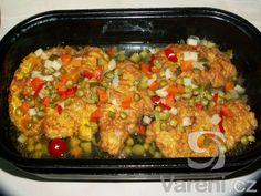 Tento recept je určen pro milovníky ostřejších jídel. Paella, Fried Rice, Fries, Ethnic Recipes, Food, Essen, Meals, Nasi Goreng, Yemek