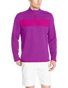 adidas Golf Men's Adi Club Performance 1/4 Zip Jacket