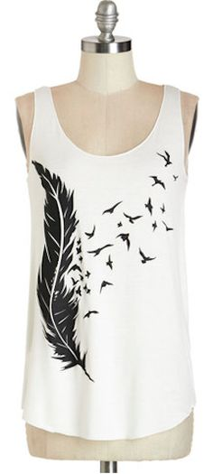 love this feather tank http://rstyle.me/n/jpva6r9te