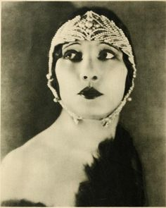 Betty Blythe - silent film star