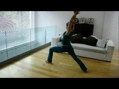 "▶ Vinyasa Flow Yoga, Creative standing Sequence. ""Balance the Shiva-Shakti"" Part 2 - YouTube"