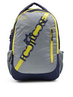 ea8099d21da1 Buy Skybags Unisex Grey   Navy Blue FOOTLOOSE BLITZ PLUS Graphic Print  Backpack - Backpacks for