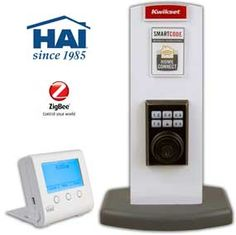 Unlock your door from your cell phone or bedside table.  HAI Intros ZigBee Remote for Kwikset Door Locks - Security System
