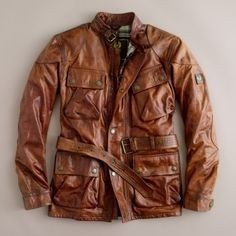 Belstaff Panther Men's cut with Belt... SO adorable. I want.